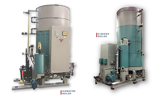 Clayton Industries Sigmafire Boiler and E-Serias Boiler