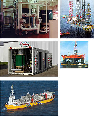 Clayton Industries, Applications, Offshore Marine
